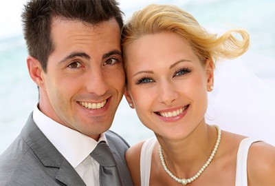 Couple Smiling - Southern California Breakfast Caterer